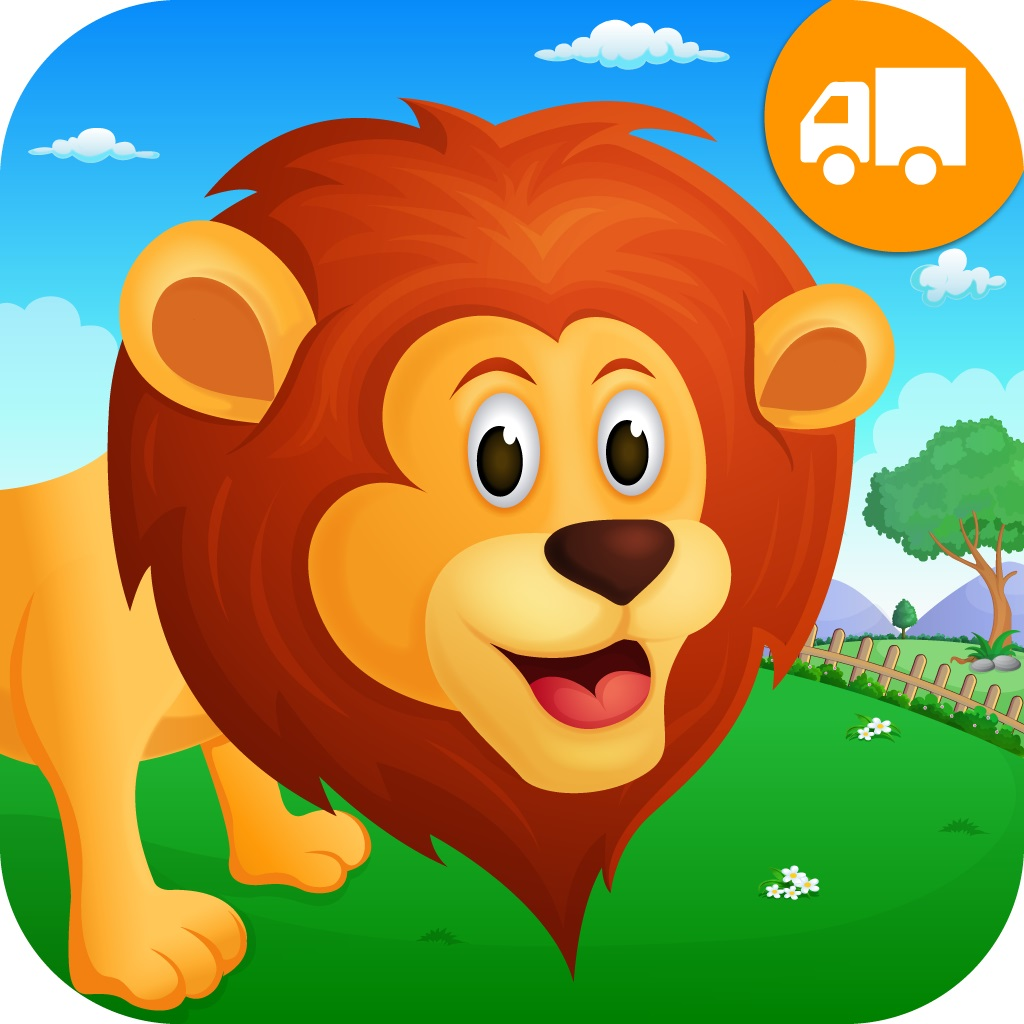 Zoo  Animals Activity Center - Paint & Play All In One Educational Learning Games for Toddlers and Kids